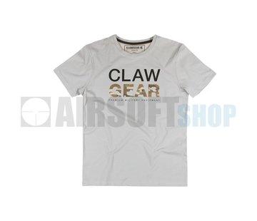 Claw Gear MC Tee T-Shirt (Light Grey)