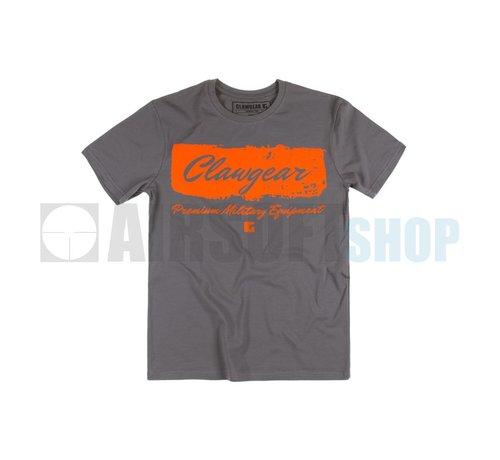 Claw Gear Handwritten Tee T-Shirt (Grey)