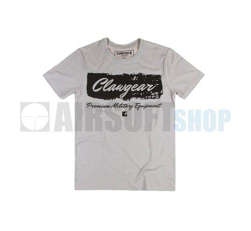 Claw Gear Handwritten Tee T-Shirt (Light Grey)