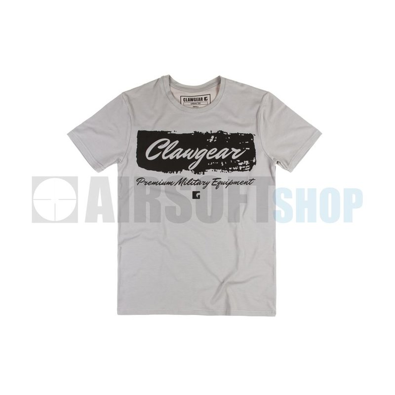 Claw Gear Handwritten Tee T-Shirt (Light Grey)