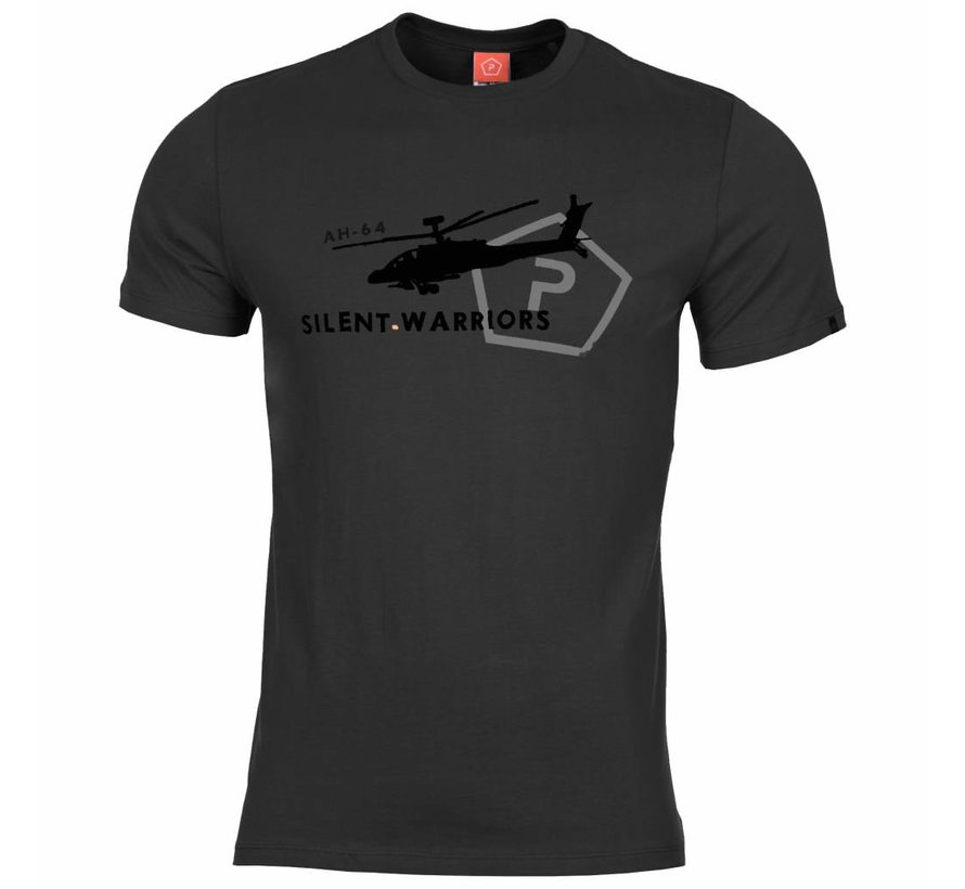 Helicopter T-Shirt (Black)