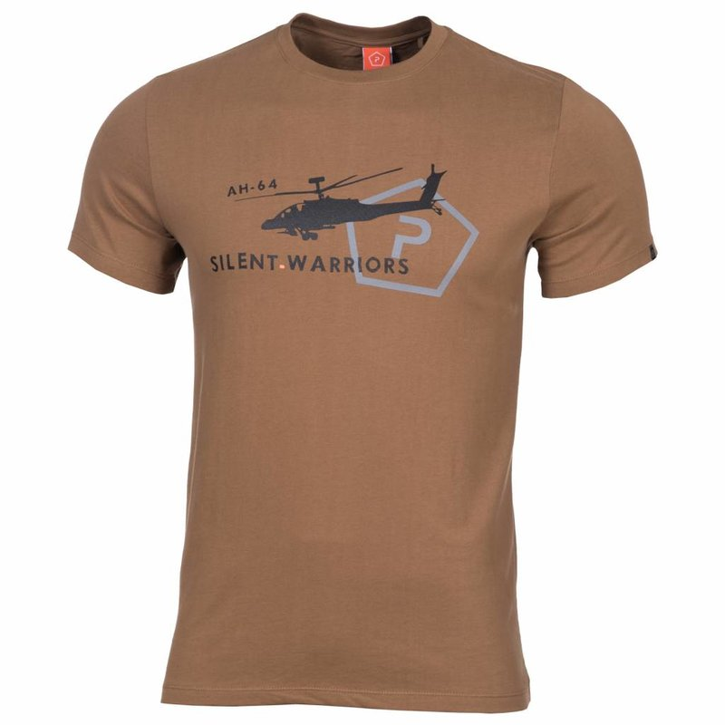 Pentagon Helicopter T-Shirt (Coyote)
