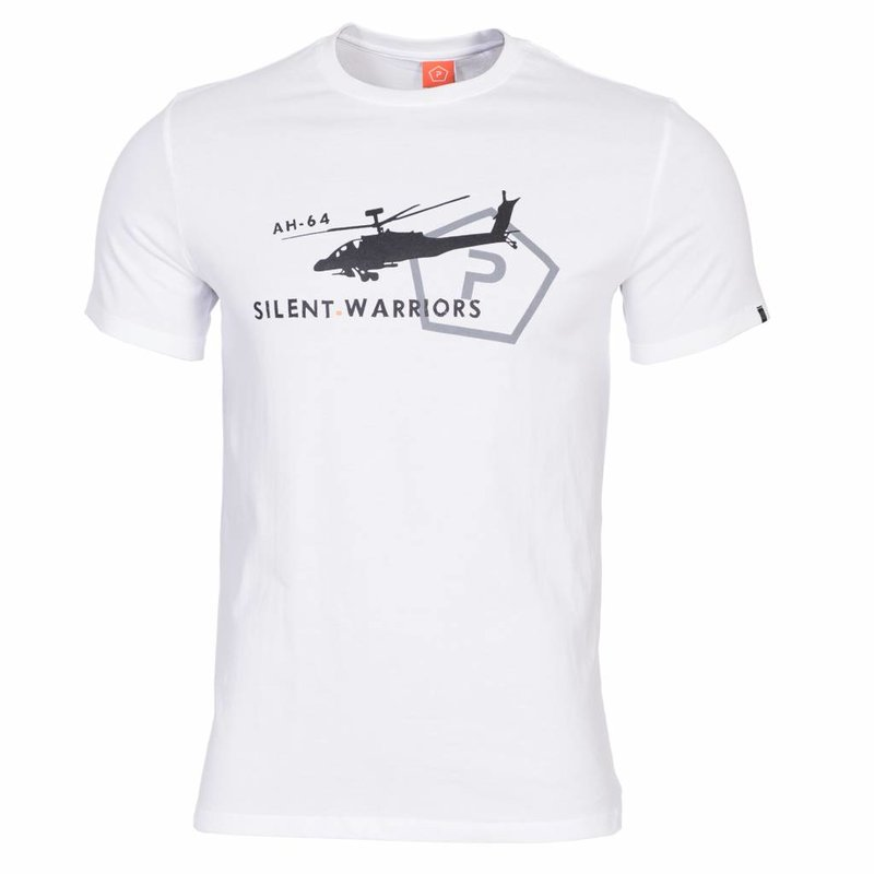 Pentagon Helicopter T-Shirt (White)