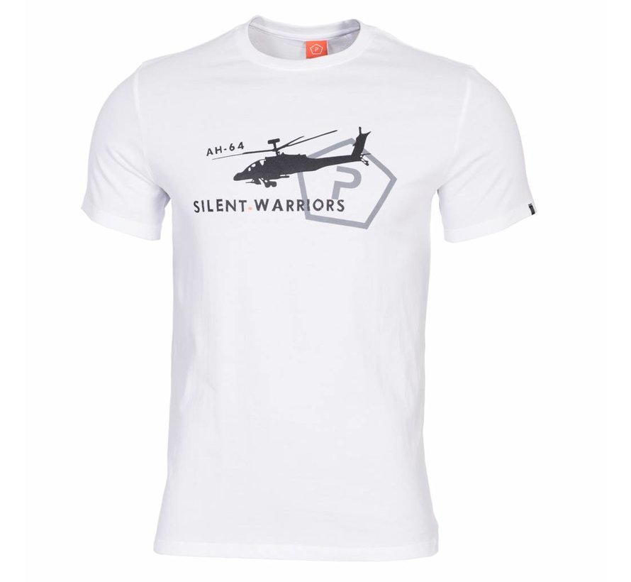 Helicopter T-Shirt (White)