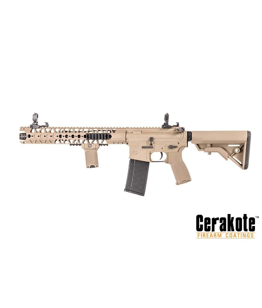 Evolution/Dytac LA M4 SBR Lone Star Edition (Cerakote) (Dark Earth)