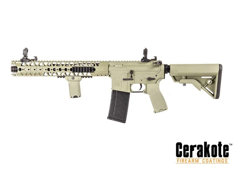 Evolution/Dytac LA M4 SBR Lone Star Edition (Cerakote) (Foliage Green)