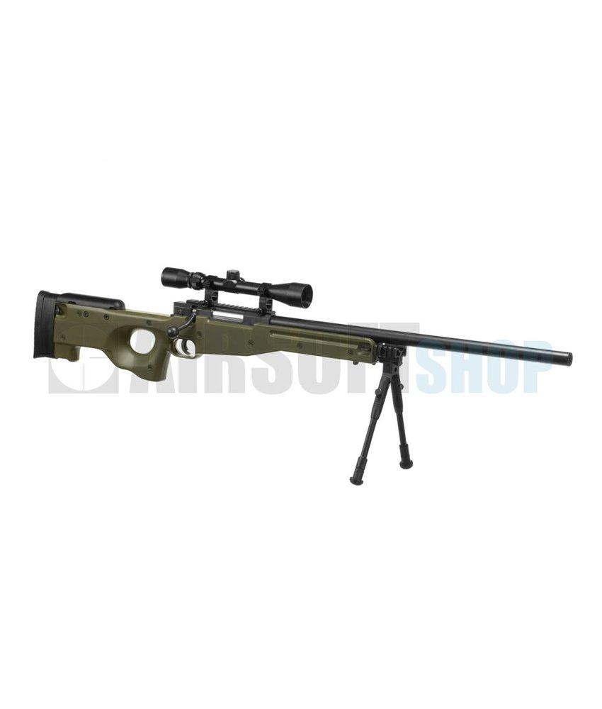 WELL L96 Sniper Set (Olive) 550 FPS