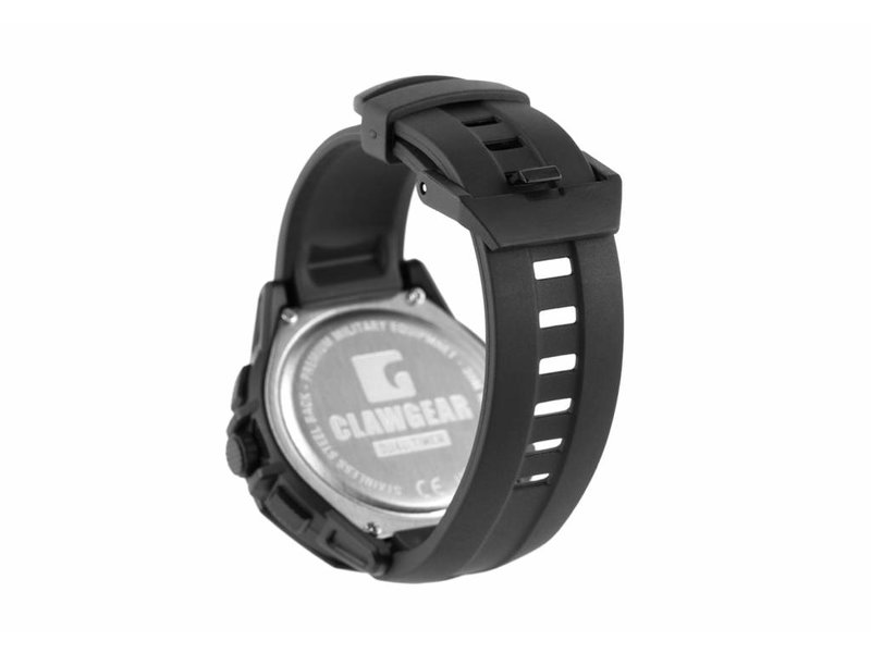 Claw Gear Dual Timer Watch (Black)