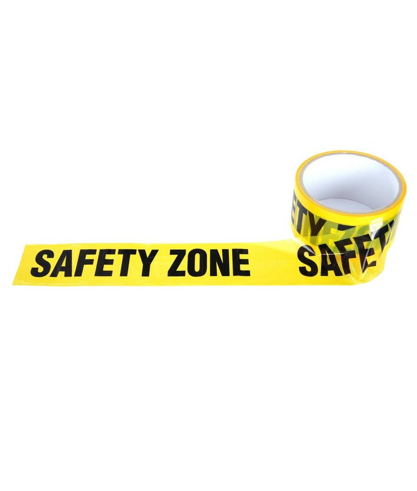101 Inc Afzetlint Safety Zone