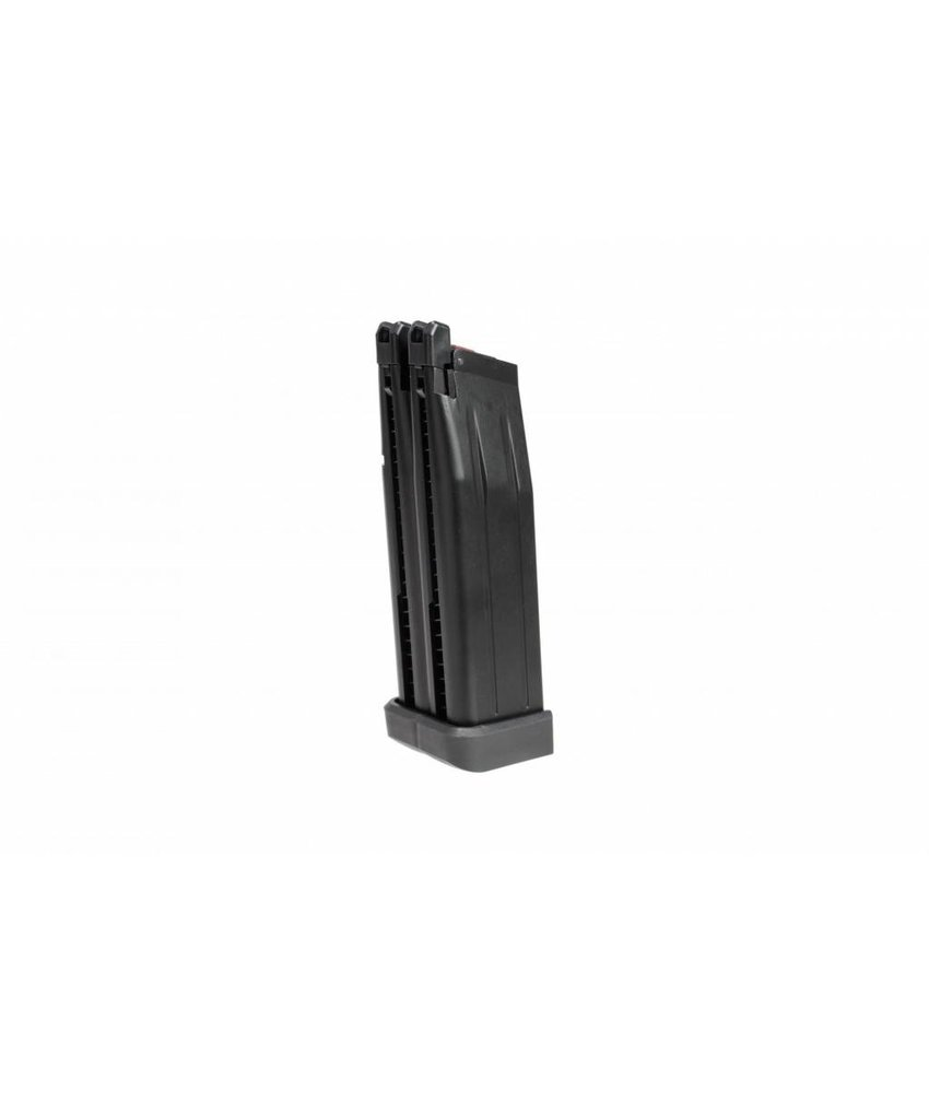 Armorer Works Hi-Capa 5.1 Double Barrel GBB Mag 60rds