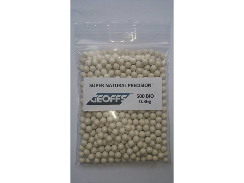 GEOFFS Bio BB 0,36g White (500rds)