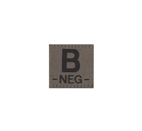 Claw Gear B NEG Bloodgroup Patch (RAL7013)