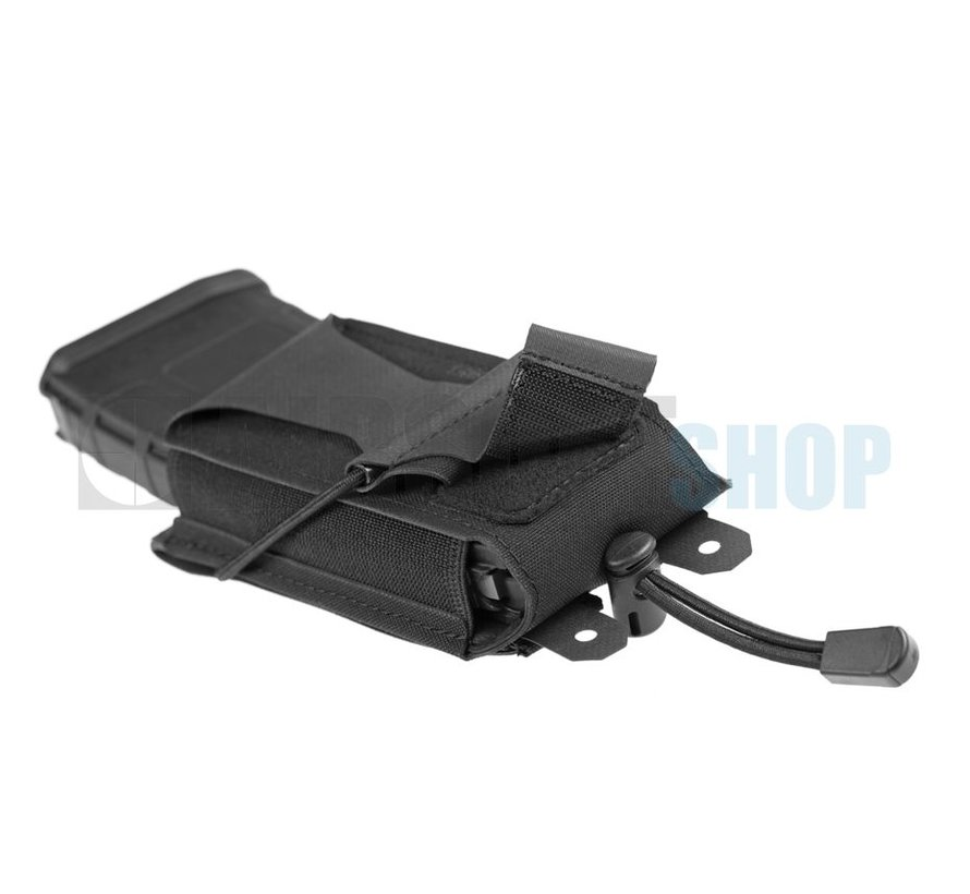 5.56mm Backward Flap Mag Pouch (Black)