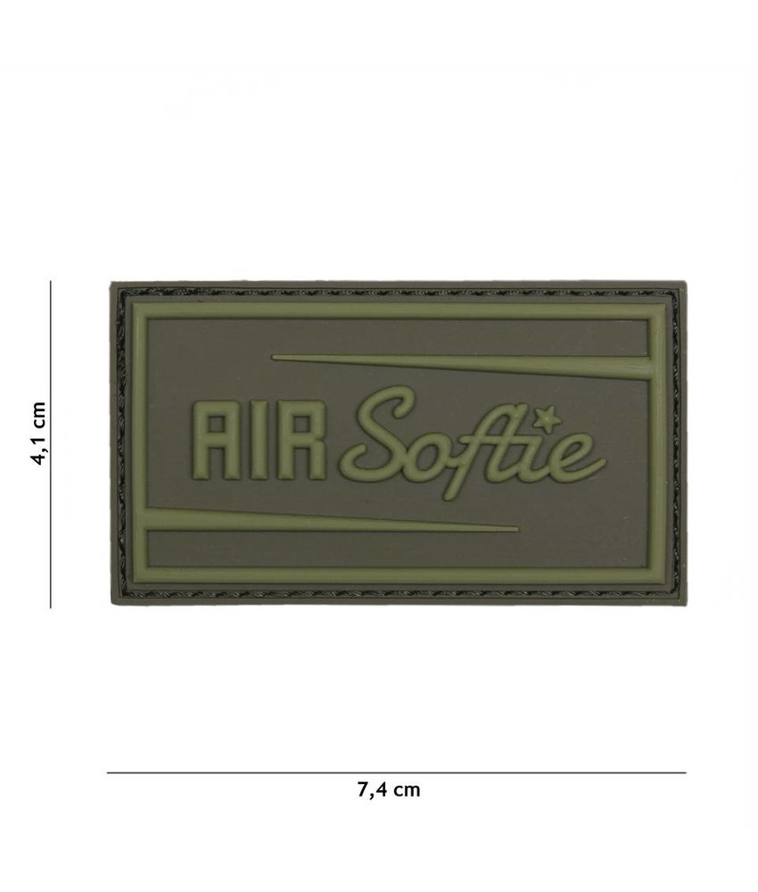 101 Inc Airsoftie Patch (Olive)