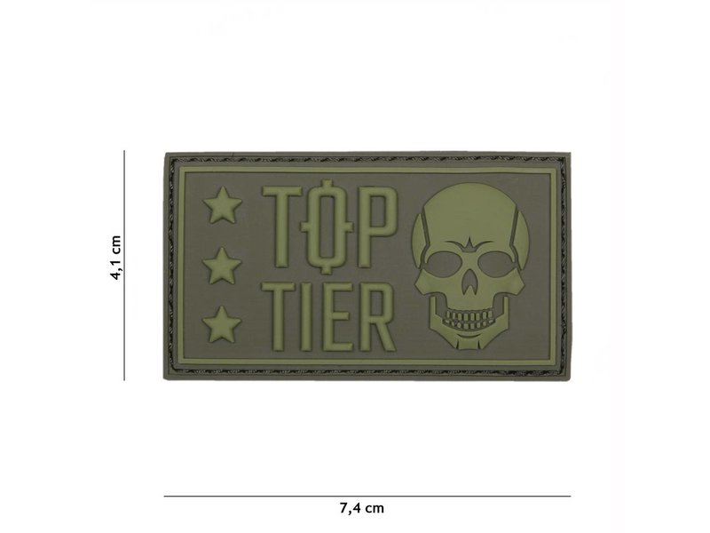 101 Inc Top Tier Patch (Olive)