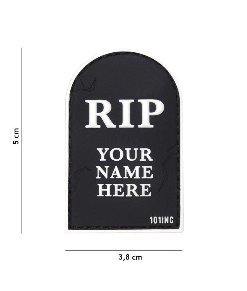 101 Inc RIP Patch (Black)