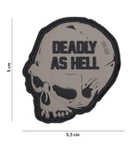 101 Inc Deadly As Hell Patch (Grey)