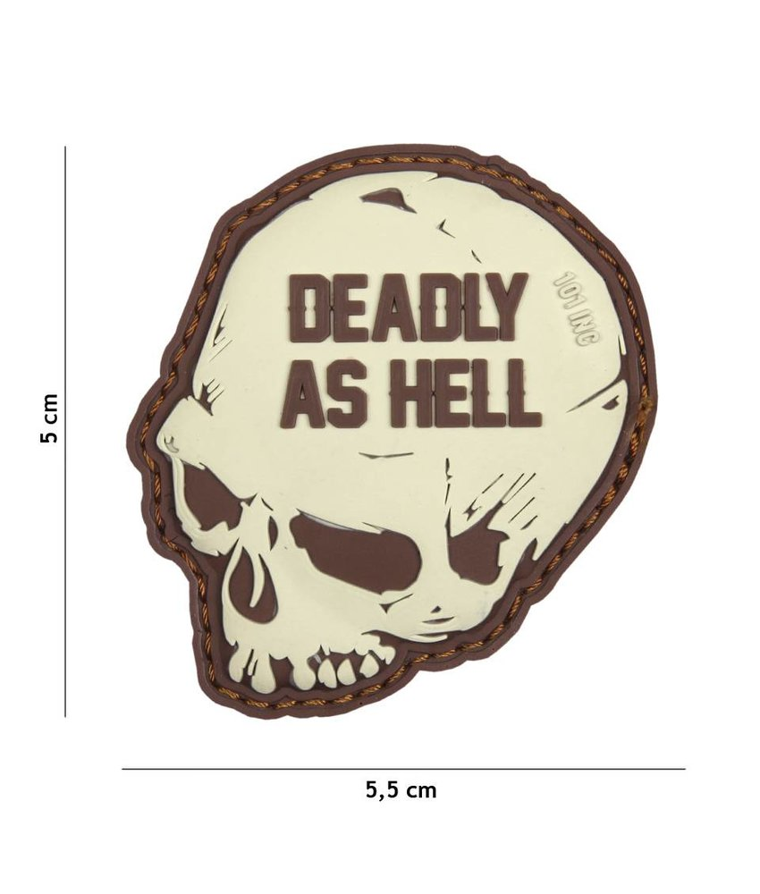 101 Inc Deadly As Hell Patch (Coyote)