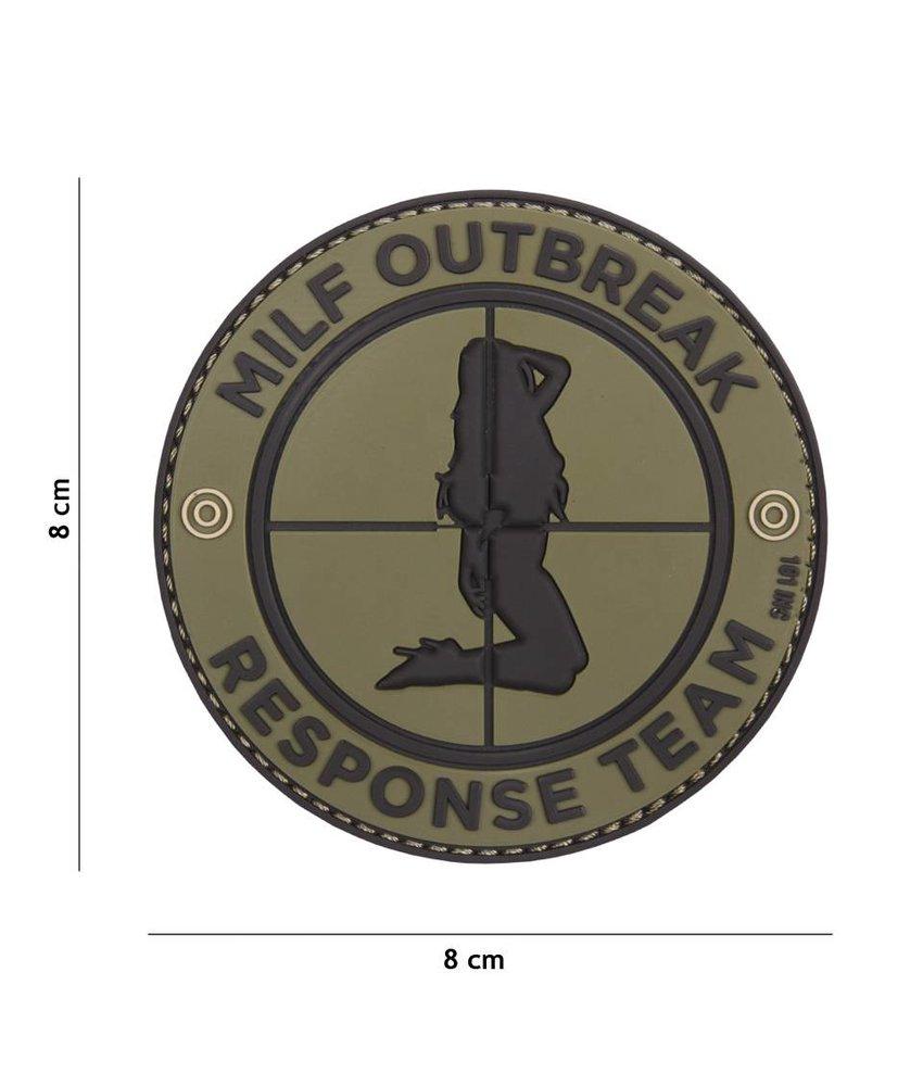 101 Inc MILF Outbreak Patch (Grey)