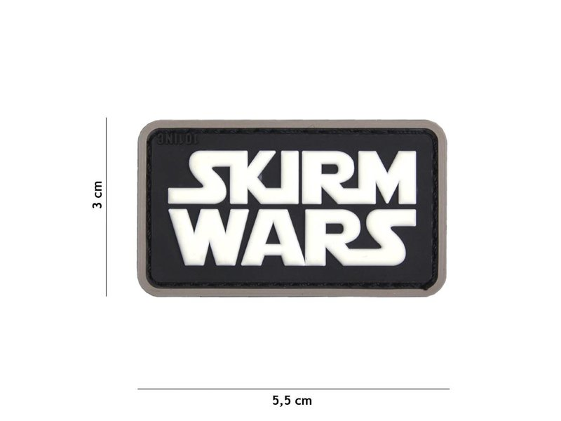 101 Inc Skirm Wars Patch (Black)