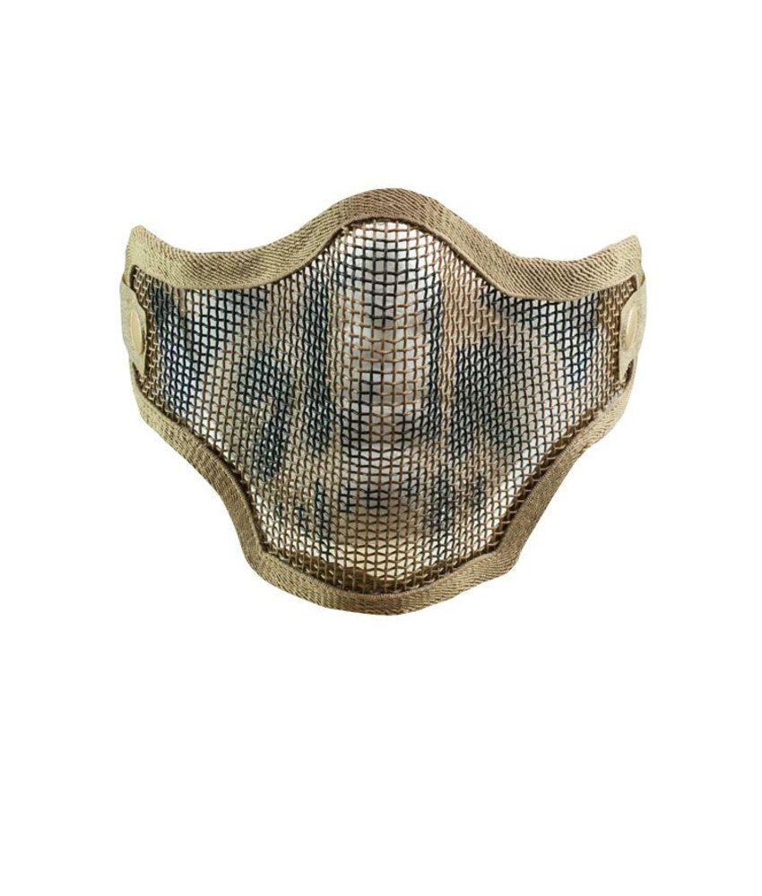 Valken 2G Wire Mesh Tactical SKULL Mask (Tan)