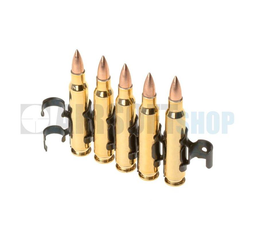 5.56 Bullet Chain 5pcs