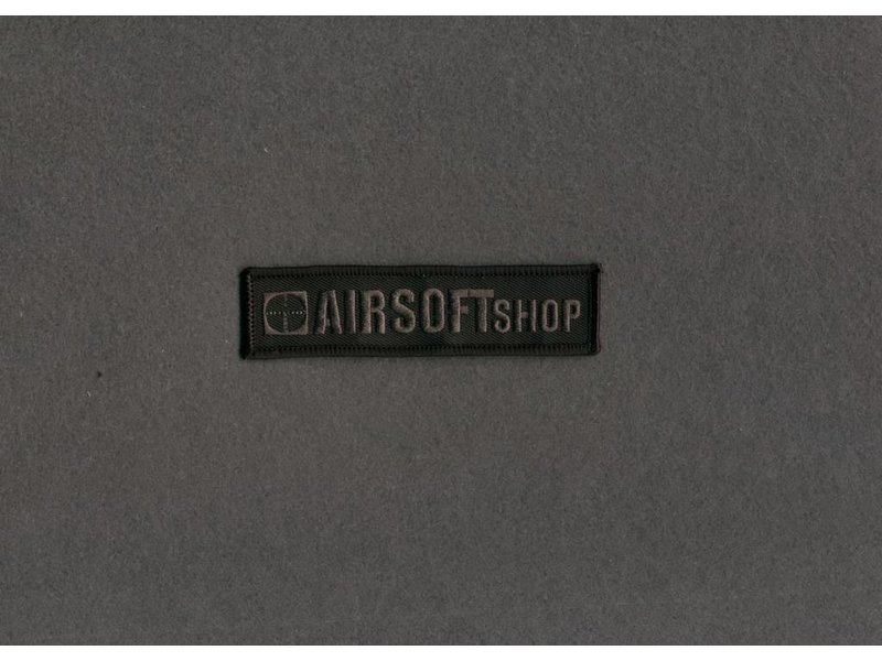Airsoftshop Patch BLACK