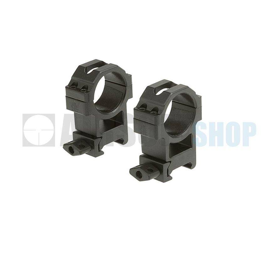 30mm CNC Mount Rings (High)