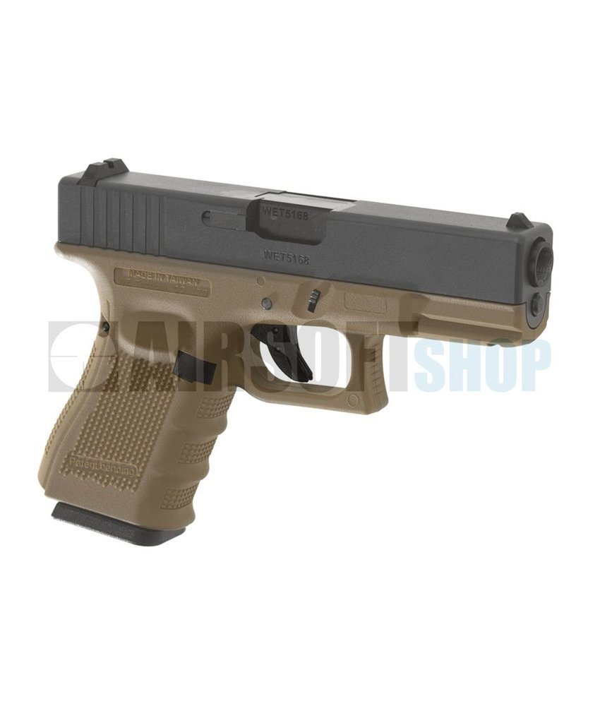WE WE19 Gen 4 Metal GBB (Desert)