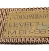 Claw Gear Level 1-L Belt (Coyote)