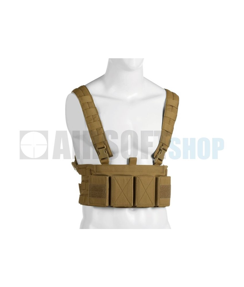 Warrior Low Profile Chest Rig (Coyote)