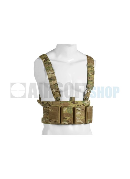 Warrior Low Profile Chest Rig (Multicam)