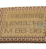 Claw Gear Level 1-B Belt (Coyote)