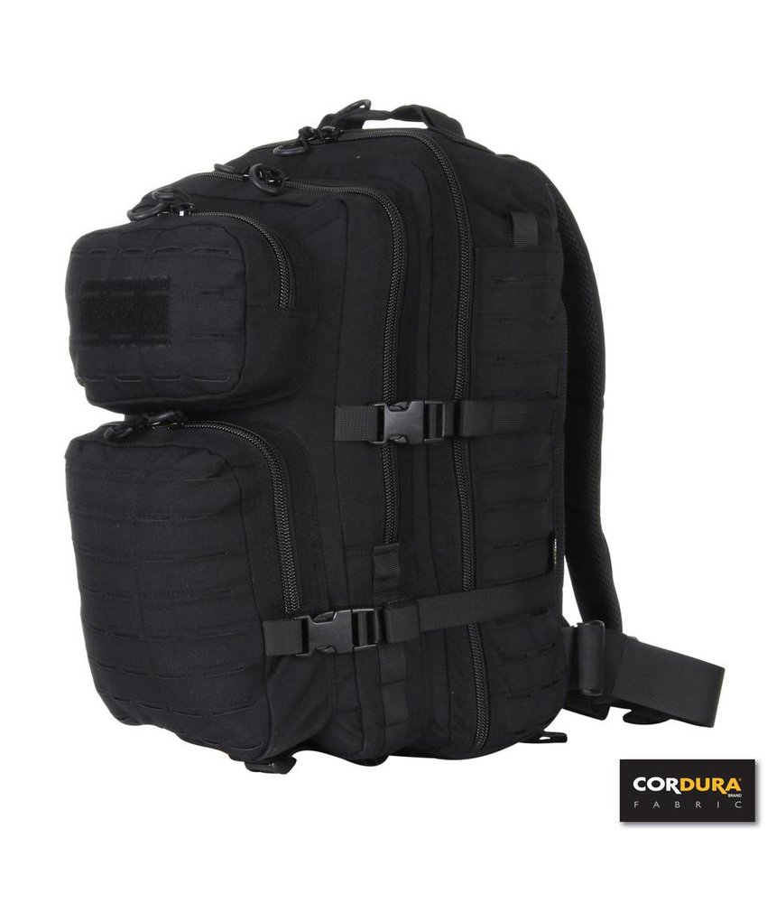 101 Inc 3-Day Assault Backpack LQ16172 (Black)