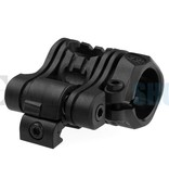 CAA Tactical 5 Pos Flashlight Mount (Black)