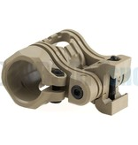 CAA Tactical 5 Pos Flashlight Mount (Khaki)