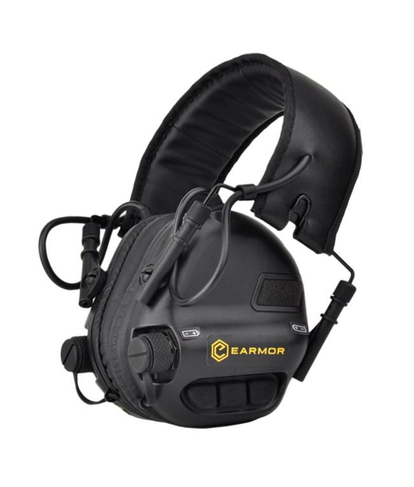 Earmor M31 Hearing Protection Ear-Muff (Black)