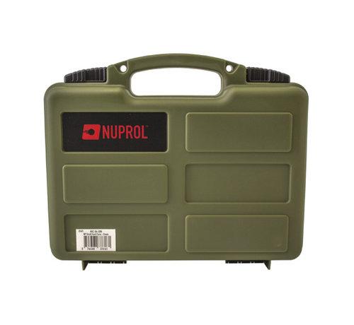NUPROL Pistol Small Hard Case (Green)