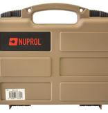 NUPROL Pistol Small Hard Case (Tan)