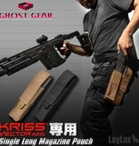 Ghost Gear Single Magazine Pouch Kriss Vector (Tan)