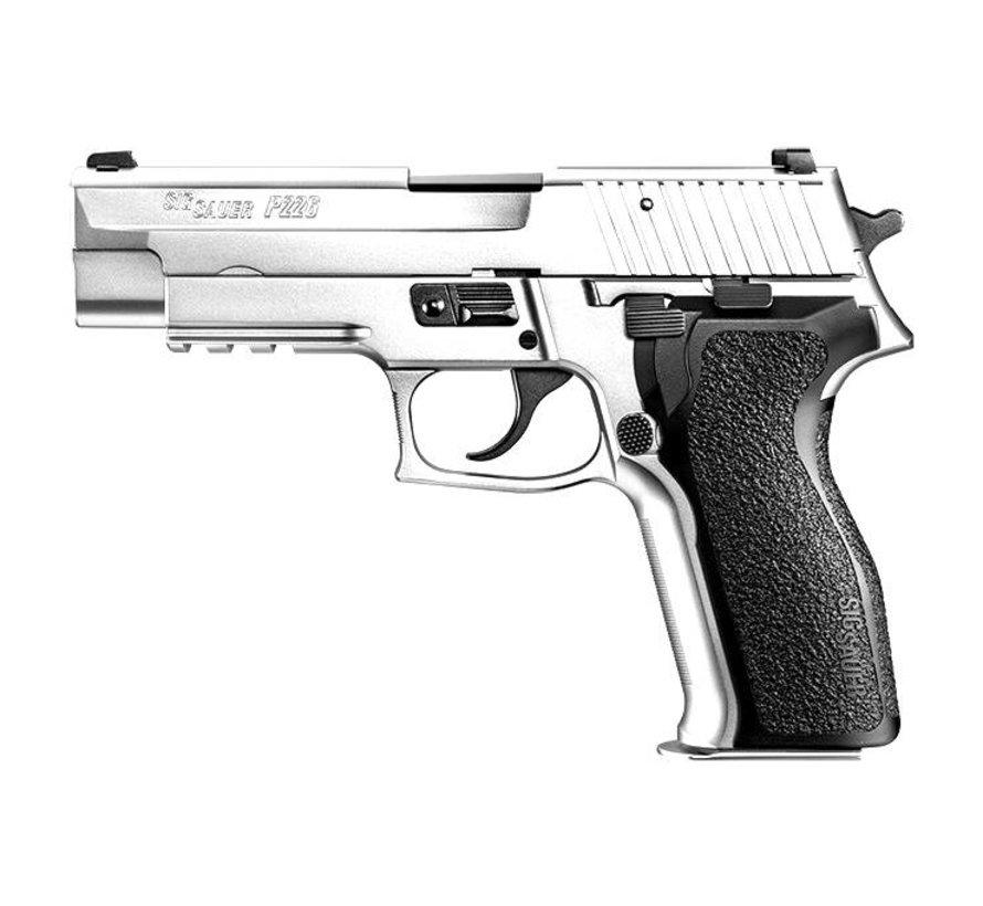 P226 E2 Silver GBB