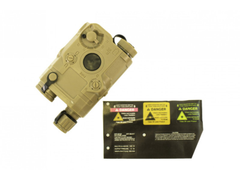 NUPROL NPQ PEQ Battery Box (Tan)