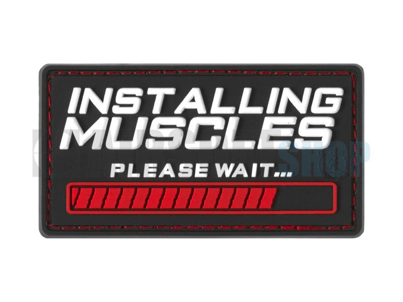 JTG Installing Muscles PVC Patch