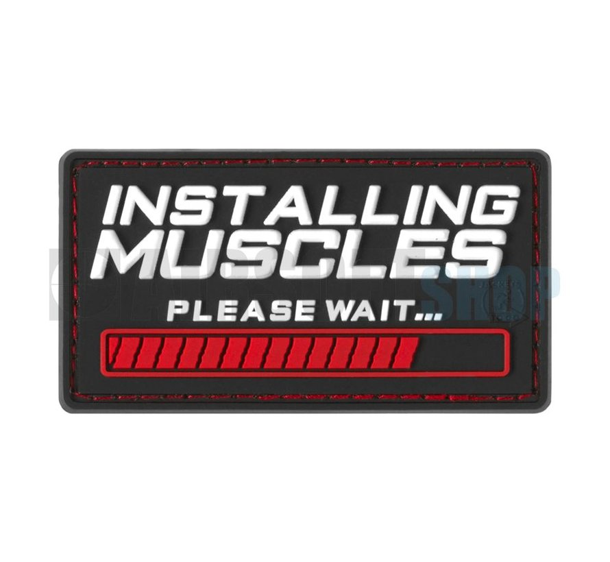 Installing Muscles PVC Patch