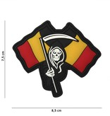 101 Inc Belgium Reaper PVC Patch