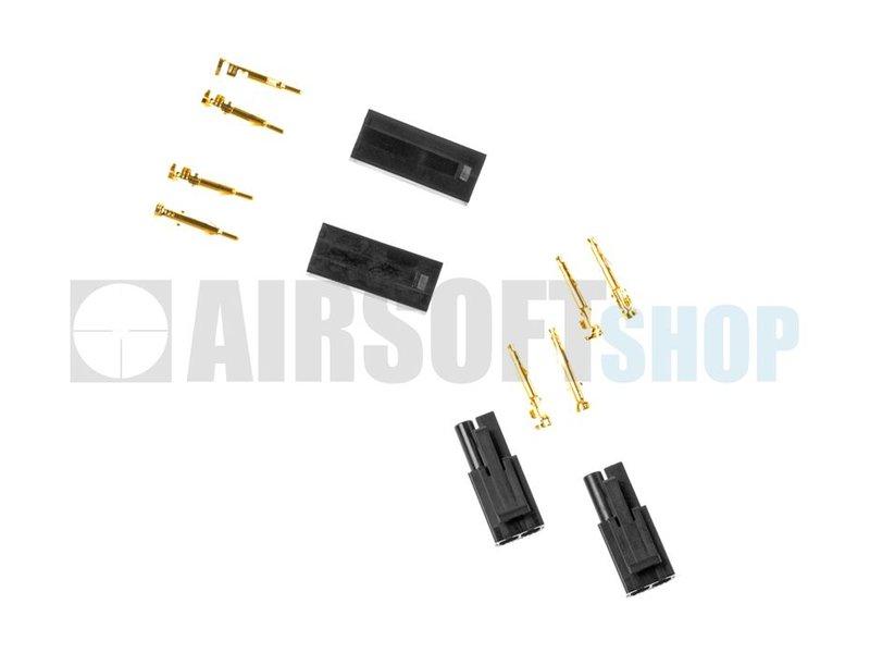 Prometheus Tamiya Mini Type Gold Plugs