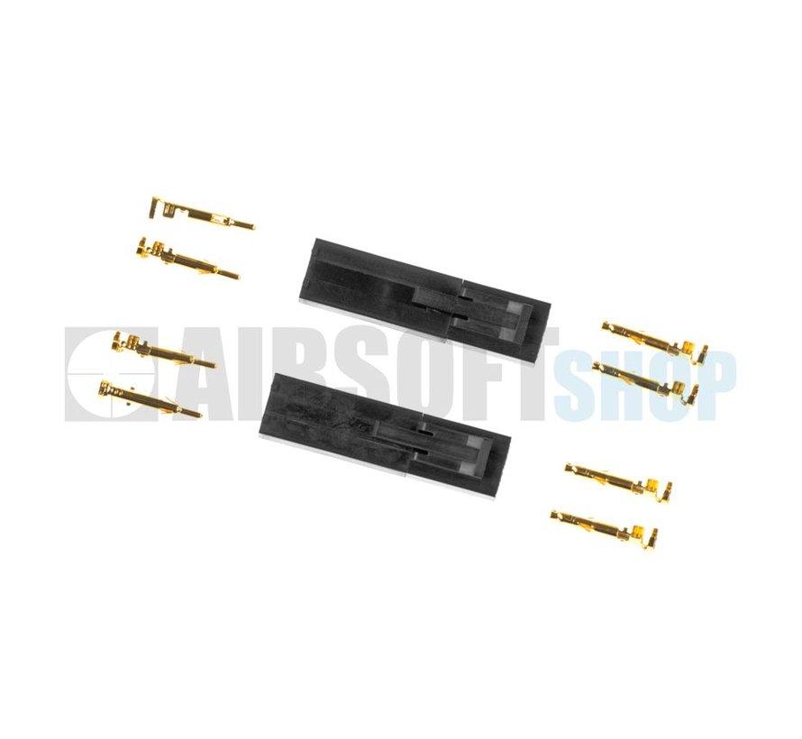 Tamiya Mini Type Gold Plugs