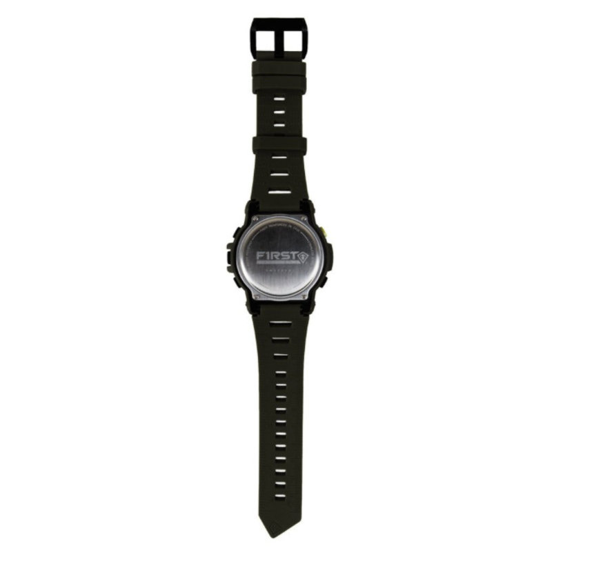 Canyon Digital Compass Watch (Olive)