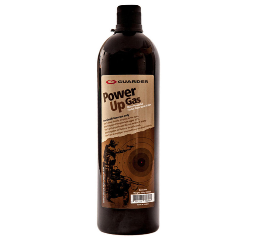 Black Power Up Gas 2000ml