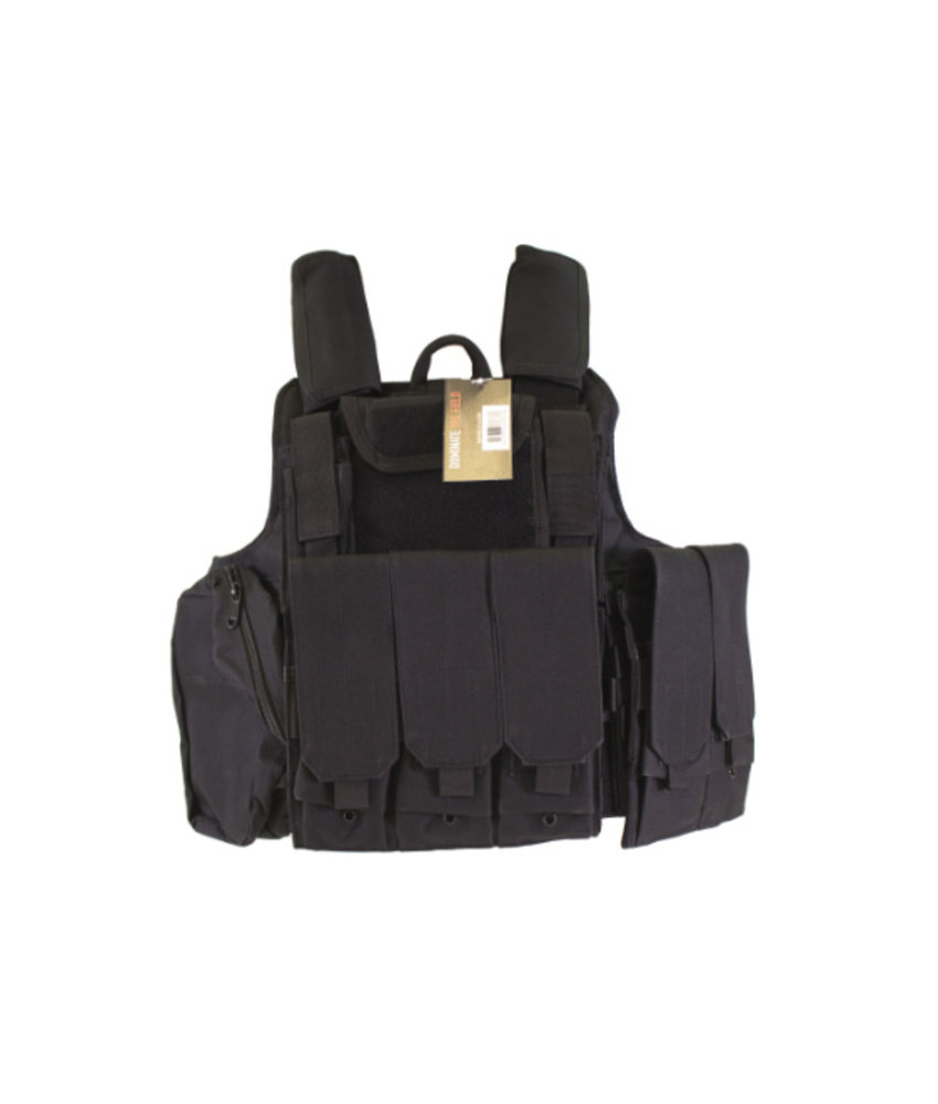 NUPROL RTG Plate Carrier (Black)